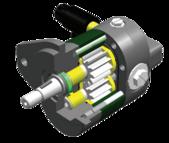 D Zahnrad Motor 535